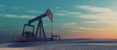 The petroleum pump royalty free illustration