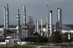 Petroleum Refinery Stock Image