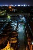 Petroleum  refinery gasoline Stock Photos