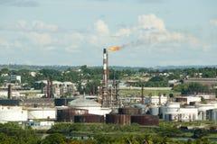 Petroleum Refinery - Havana - Cuba Stock Image