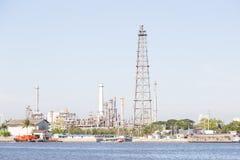 Petroleum refining plant Royalty Free Stock Photography