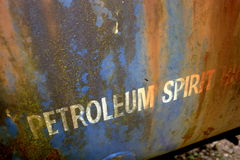 Petroleum Spirit Royalty Free Stock Photography