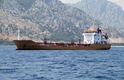 Petroliera fotografia stock