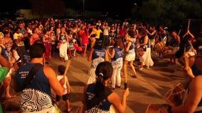 Petrolina Dance Festival in Brazil stock video footage