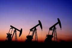 Petrolio e gas Fotografie Stock