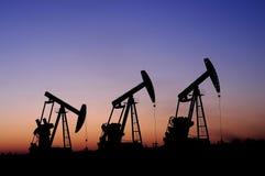 Petrolio e gas Immagini Stock Libere da Diritti