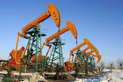 Petrolio e gas Immagini Stock