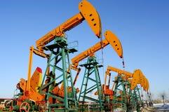 Petrolio e gas Fotografia Stock Libera da Diritti