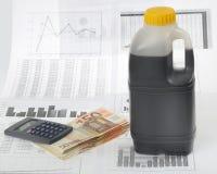 Petrolium crisis stock images