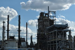 Petrolium plant Stock Photos