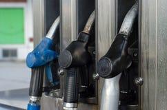 Petroll de relleno en la estación fotografía de archivo