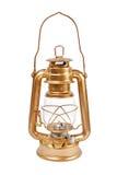 Petrollampa på en vit. Royaltyfri Bild