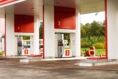 petrolstation Royaltyfri Bild