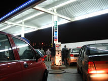 petrolstation Arkivbilder