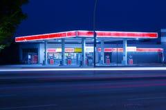 petrolstation Royaltyfri Foto
