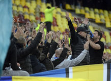 Petrolul Hardcore Fans Royalty Free Stock Images