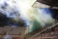 Petrolul Ploiesti Football Fans Stock Image