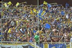 Petrolul Ploiesti Football Fans Royalty Free Stock Image