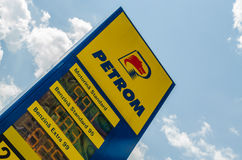 Petrom Gas Station Stock Images