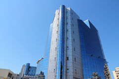 Petrom Gebäude, Ploiesti Lizenzfreie Stockbilder