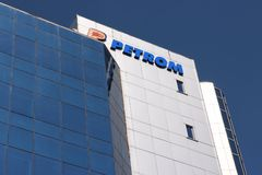 Petrom oil company Royalty Free Stock Photo