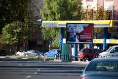 Petrom station Stock Photography