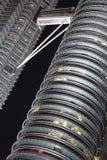 Petrona耸立吉隆坡马来西亚Skyway走道连接 库存图片