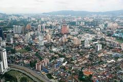 Petrona se eleva estibador de Kuala en Malasia en Asia fotos de archivo