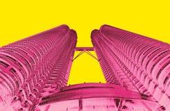 Petrona torn i duett för KL Malaysia royaltyfri fotografi