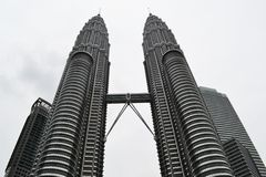 Petrona Towers Royalty Free Stock Photos