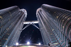 Petronas. Tower is one landmark of malaysia Stock Photos