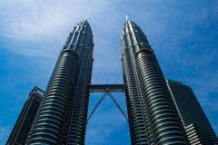 Petronas bliźniacze wieże Fotografia Stock