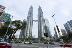 Petronas bliźniacze wieże Obraz Royalty Free