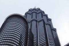 Petronas bliźniaczych wież zewnętrzny projekt Obraz Stock