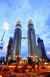 Petronas brengt toren samen Royalty-vrije Stock Foto's