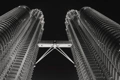 Petronas Góruje Zdjęcie Royalty Free