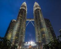 Petronas Góruje Fotografia Royalty Free