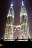 Petronas-Kontrolltürme Lizenzfreie Stockbilder