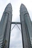 Petronas-Kontrolltürme Stockbilder