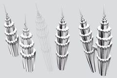 Petronas-Kontrolltürme Lizenzfreie Stockfotos