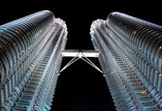 Petronas-Kontrollturm Lizenzfreies Stockfoto