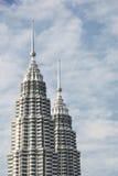 Petronas malaysia wieże zdjęcia royalty free