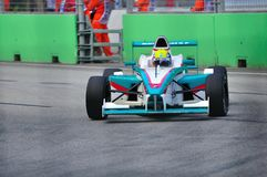 Petronas Mofaz car at Formula BMW Pacific race Royalty Free Stock Image