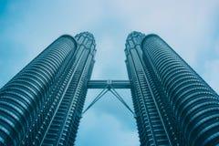 Petronas se eleva Kuala Lumpur Foto de archivo