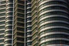 Petronas se eleva los detalles Foto de archivo libre de regalías
