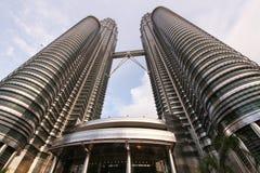 Petronas står högt Malaysia Arkivfoton
