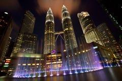 Petronas-Türme Stockfotografie