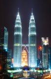 Petronas-Türme Stockbild