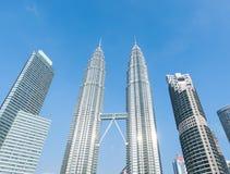 Petronas-Türme Lizenzfreie Stockfotos