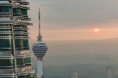 Petronas-Türme Stockfotos